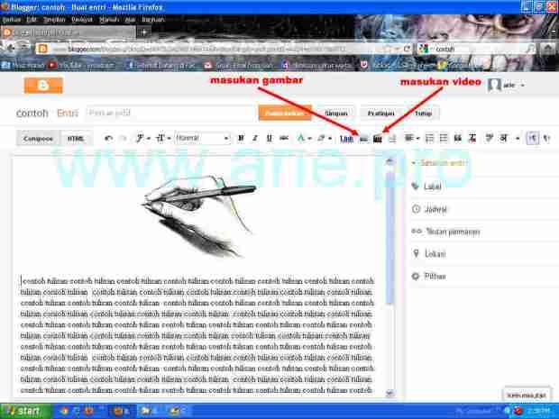 cara-posting-di-blogspot-measukan-gambar-dan-video