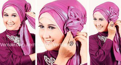 gaya-hijab-pashmina-glitter