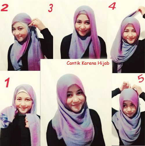 tutorial-hijab-paris-segi-empat