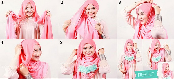 Tutorial-Hijab-Segi-Empat-Pesta