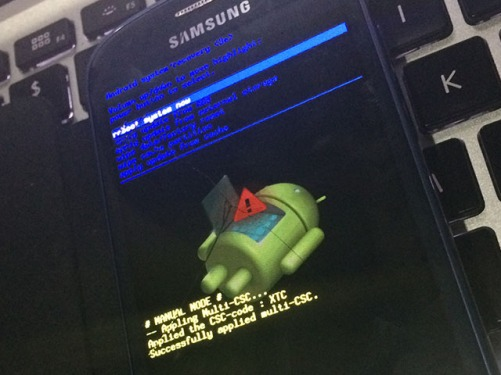 Cara Hard Reset Hp Samsung Android