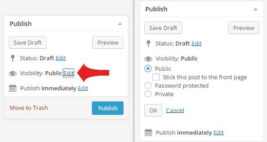 cara-membuat-password-pada-postingan-worpress