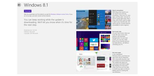 Cara Upgrade ke Windows 8.1