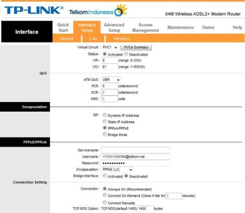 setting-modem-tp-link-internet