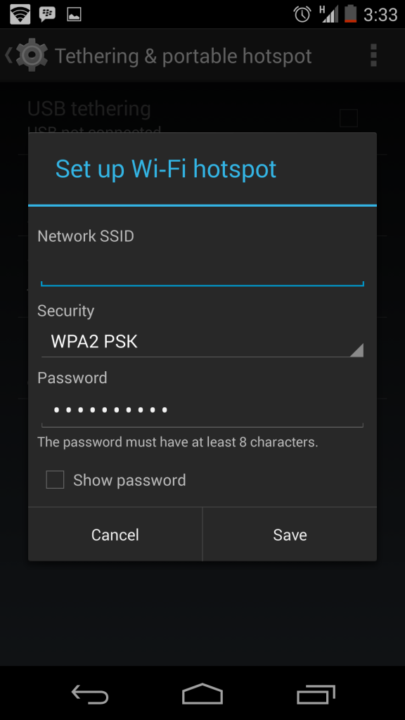 Setup-wifi-hotspot