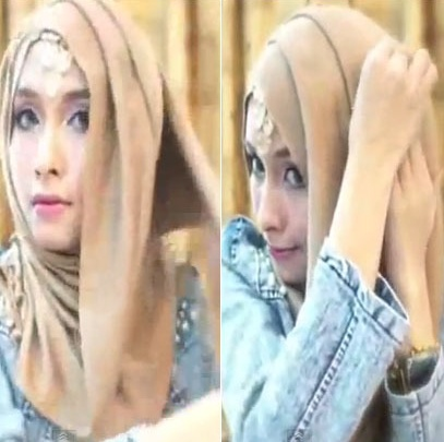 Tutorial-Hijab-Pesta