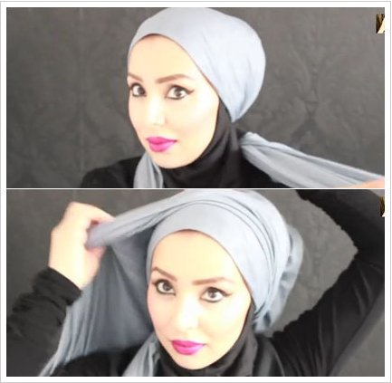 Tutorial-Hijab-Turban