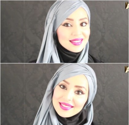 Tutorial-Jilbab-Turban