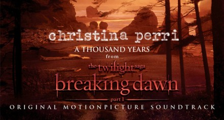 Lirik lagu A Thousands Years Christina Perry