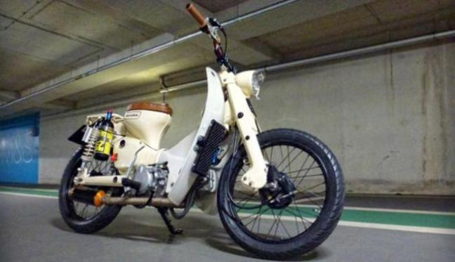 Gambar Modifikasi Sepeda Motor Jadul Foto Modifikasi Motor Honda Berita Foto Dan Tips