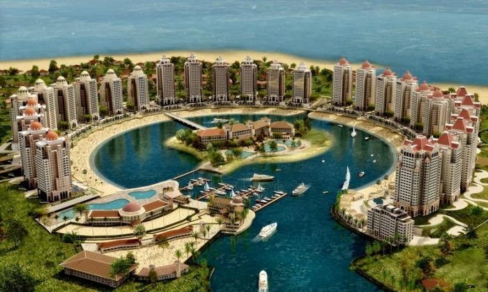 Kemewahan pulau buatan di Qatar12