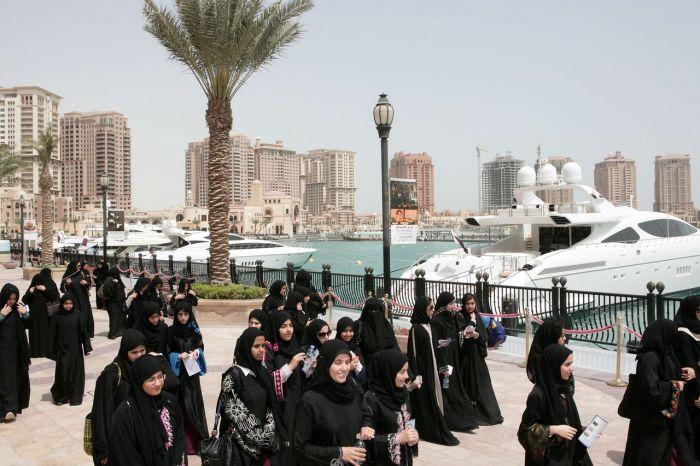 Kemewahan pulau buatan di Qatar14