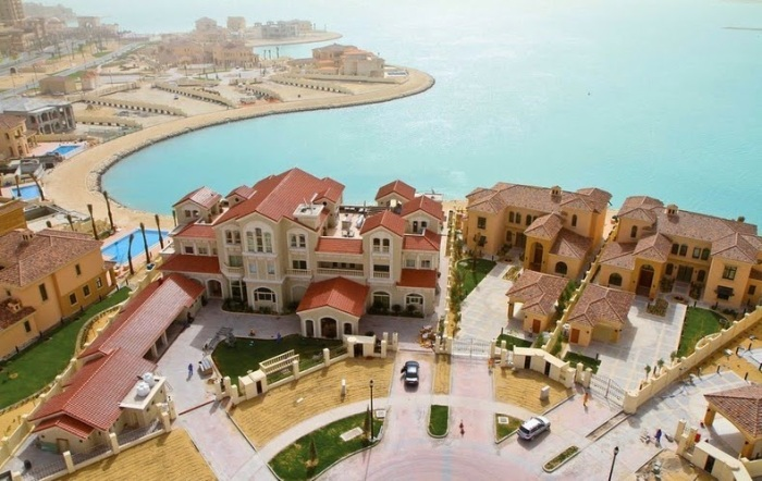 Kemewahan pulau buatan di Qatar15