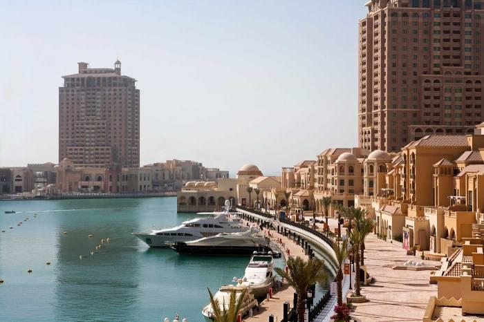 Kemewahan pulau buatan di Qatar19