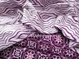 Paket Kombinasi Batik Cap Priangan Ungu Ceria