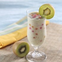 Resep-Membuat-Es-Kiwi-Yoghurt-Honey-Blended