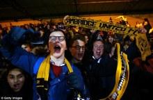 Cambridge United's fan